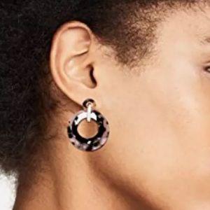 Lele Sadoughi Mini Banded Hoop Earrings